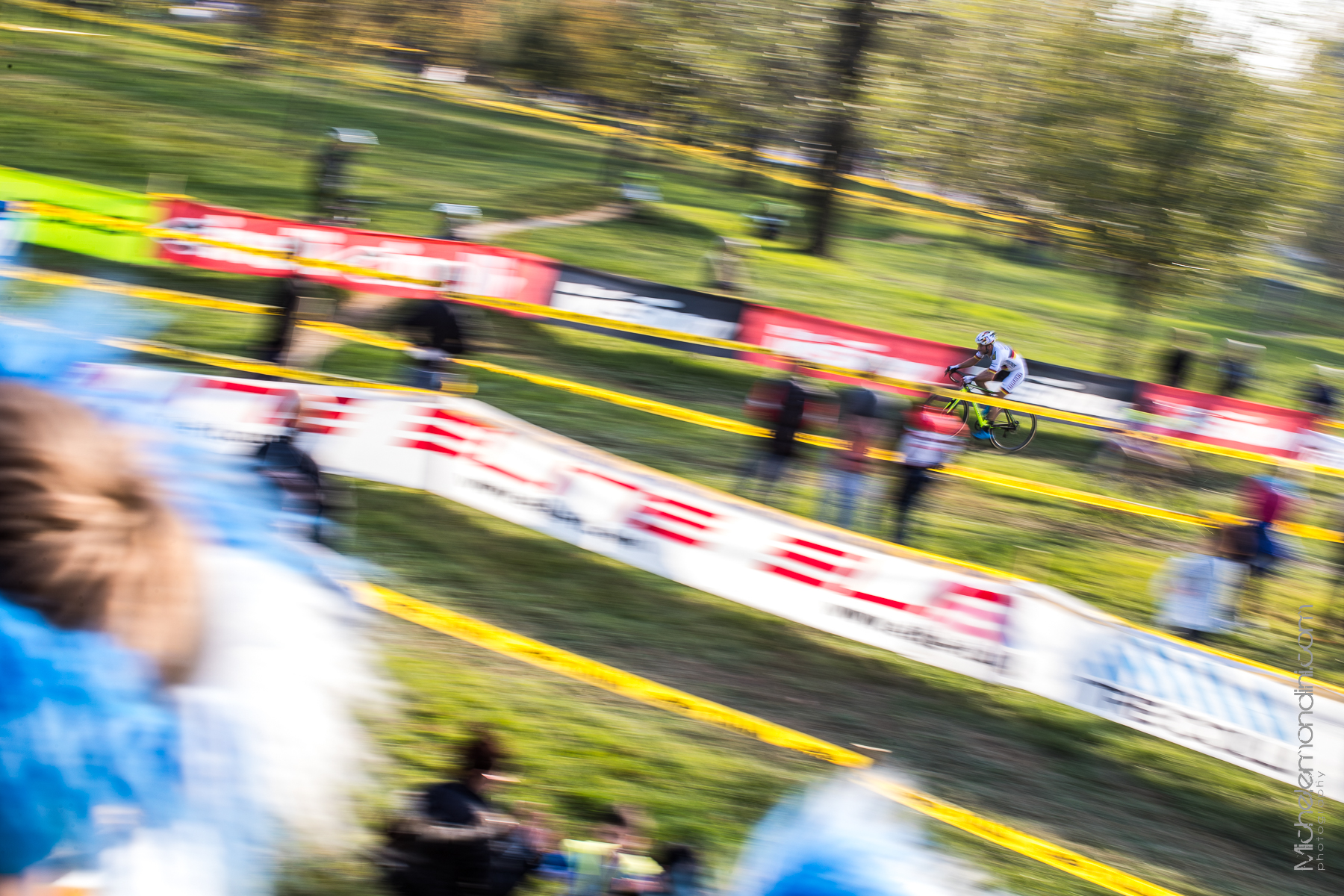 Panning with Marcel Meisen in Idroscalo cx race - Milan - Ph: Michele Mondini