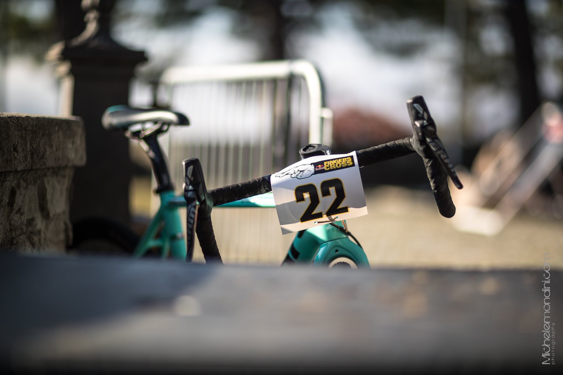 Prorider's bike is ready for Fingerscross first edition - Ph: Michele Mondini