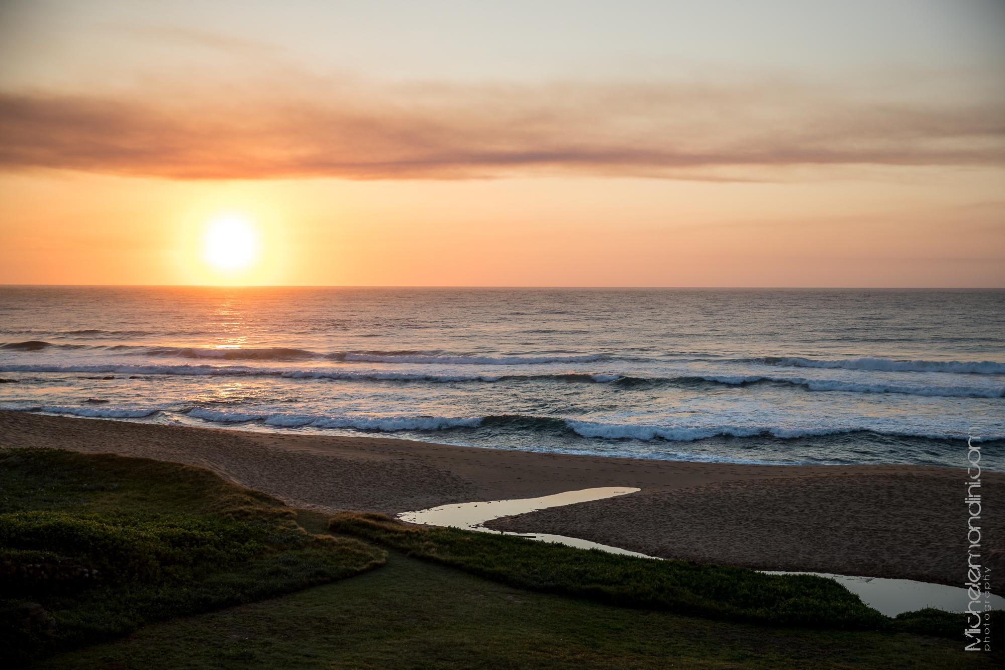 Dawn in Salt Rock - Durban - South Africa - Ph: Michele Mondini