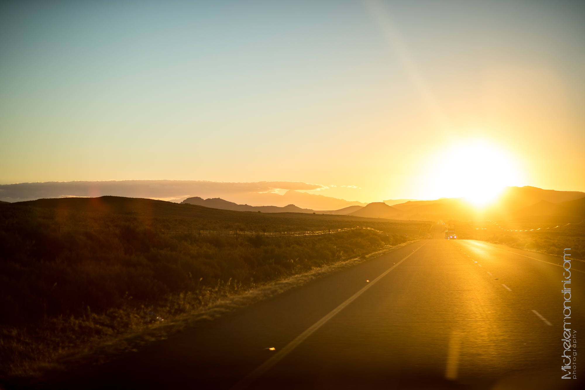 Driving back to Cape Town