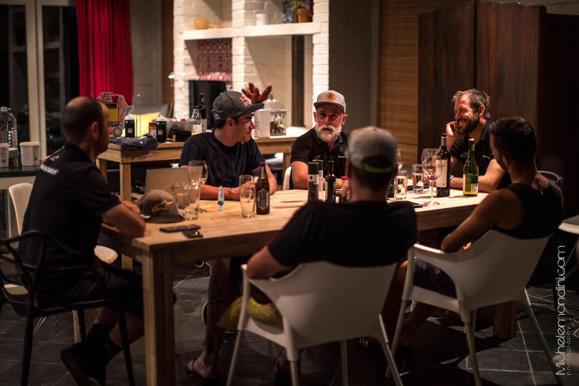 Team dinner with a lot of speeches, laughs and just a few glasses of wine - Ph: Michele Mondini