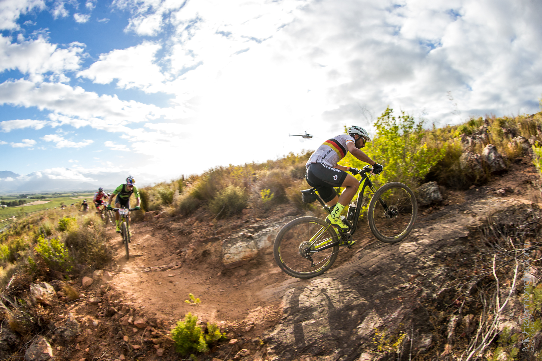 Damn technical trails over there in South Africa - Ph: Michele Mondini