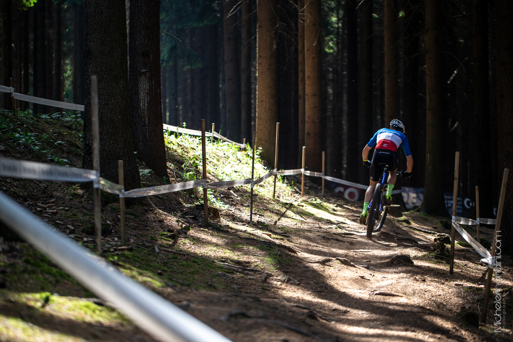 Maxime Marotte trains in Nove Mesto - Ph: Michele Mondini