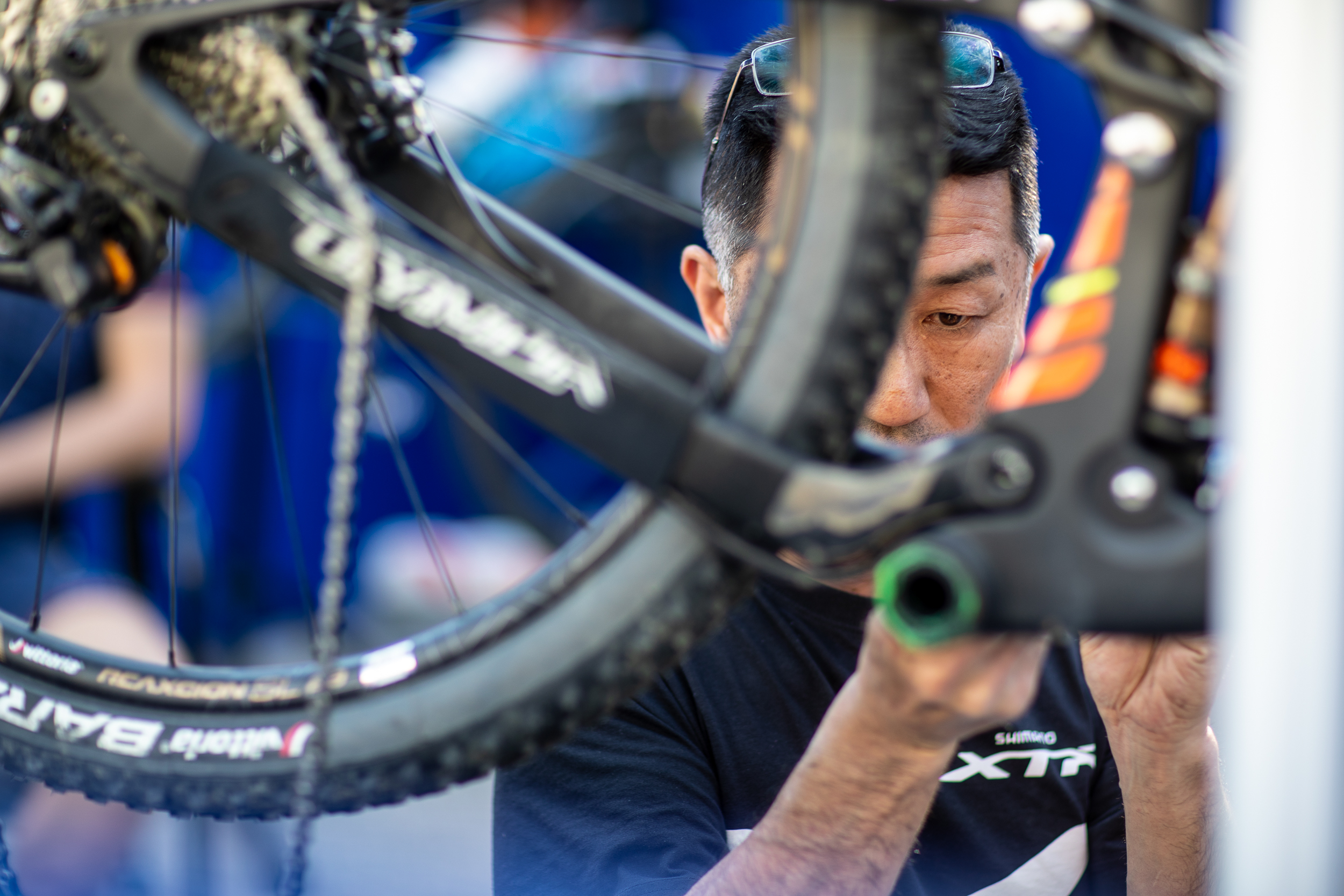 Shimano support in Nals Race - Ph: Michele Mondini